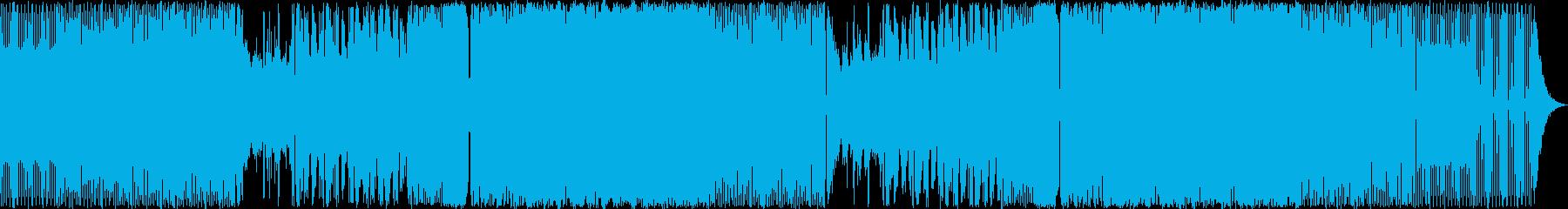 エレクトロハウスバージョンのポップ...の再生済みの波形