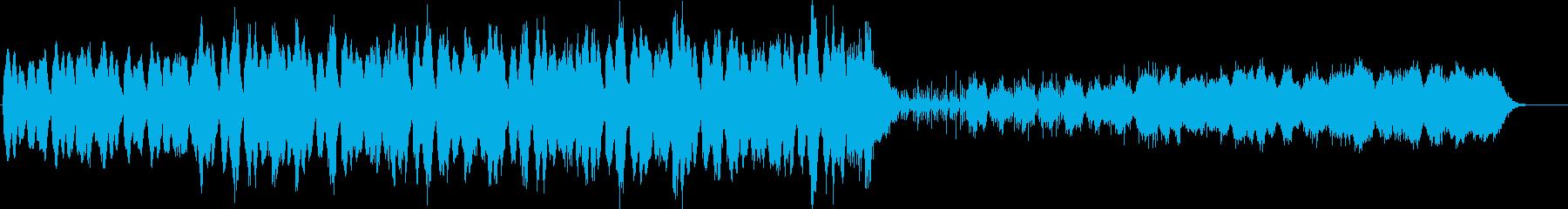 劇伴 ミステリアスなミニマルテクノの再生済みの波形