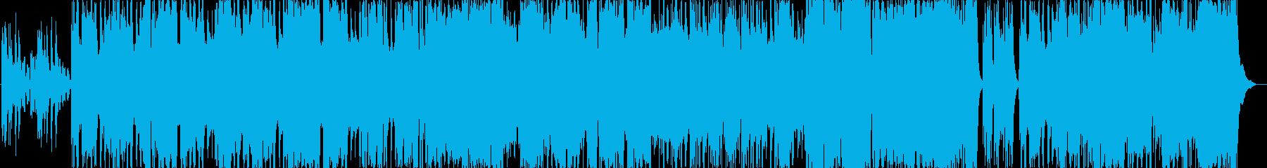 ペルー風の楽曲です。アンデス山脈に流れ…の再生済みの波形