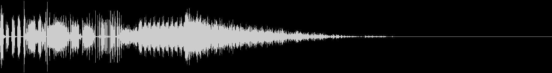 8bitな感じのゲームオーバー音の未再生の波形