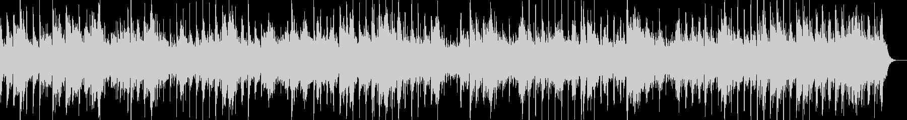 シンプルなアコースティックサウンドの未再生の波形