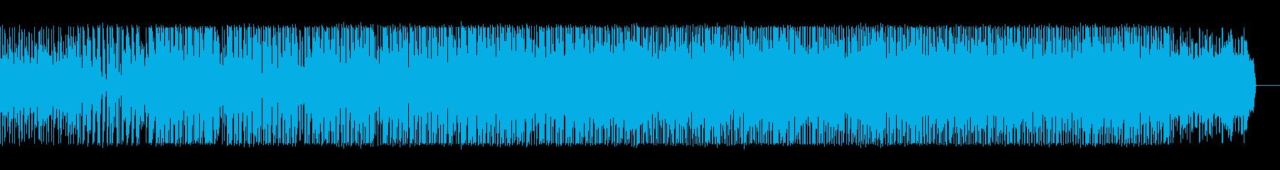 奇妙な空間のテクスチャIDMの再生済みの波形