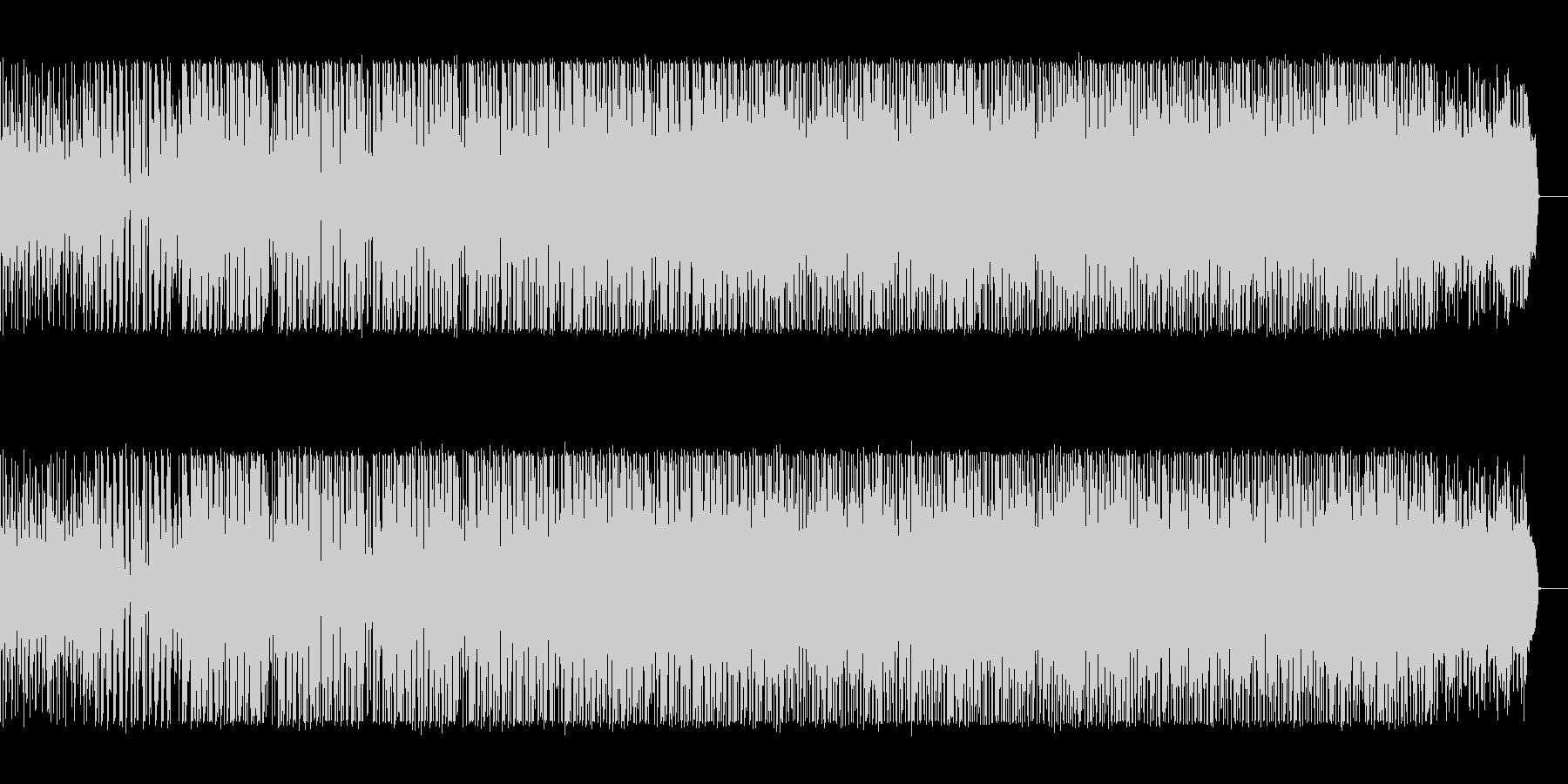 奇妙な空間のテクスチャIDMの未再生の波形