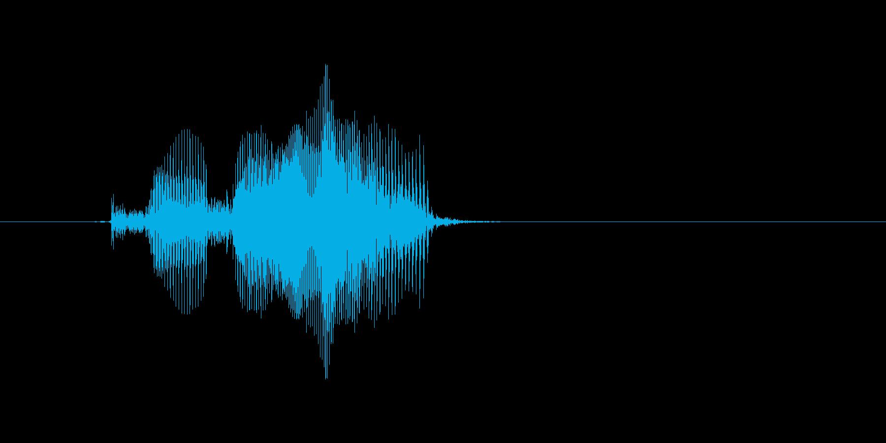 Clearの再生済みの波形