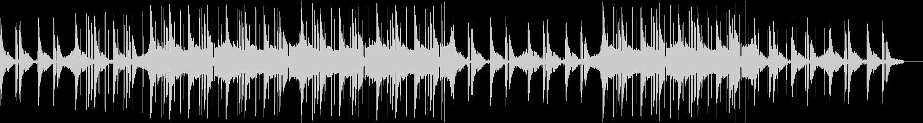 ヒップホップ・チル・ローファイ・カフェの未再生の波形
