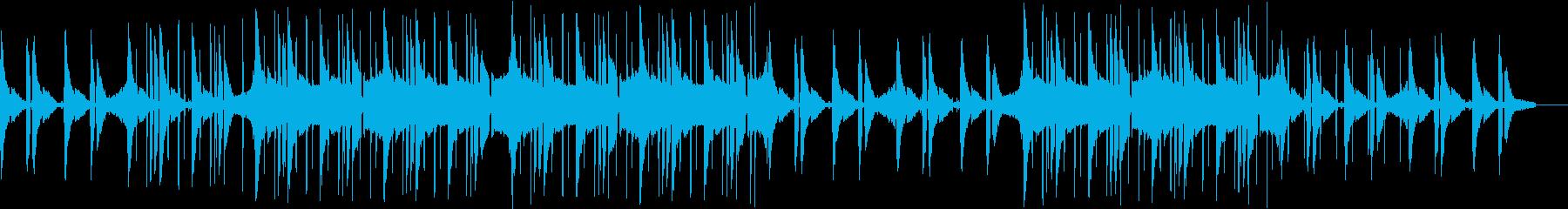 ヒップホップ・チル・ローファイ・カフェの再生済みの波形