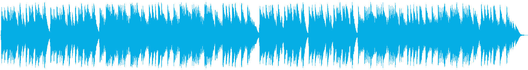 荒野の果てに オルゴールの再生済みの波形