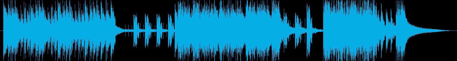 旅立ちをイメージした曲の再生済みの波形