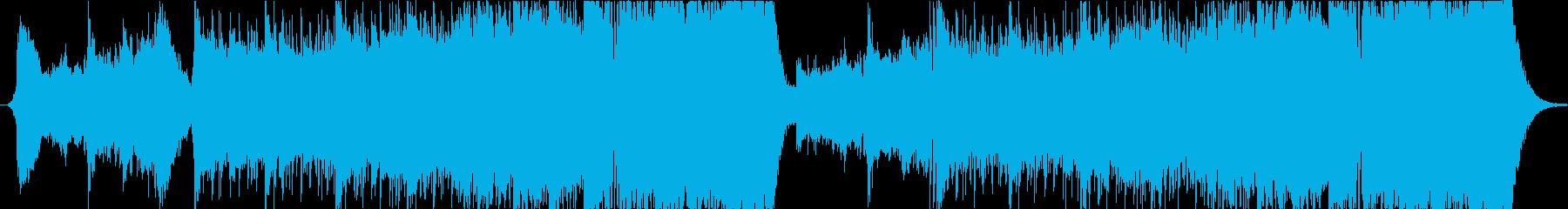Dubstep Action Musicの再生済みの波形