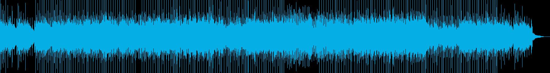 爽やかなベル音が印象的なポップスの再生済みの波形