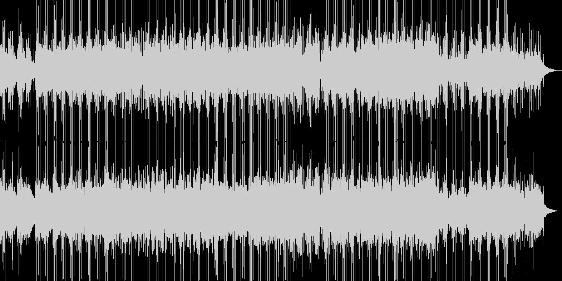 爽やかなベル音が印象的なポップスの未再生の波形