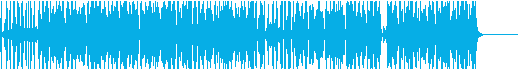 ユーチューブ風汎用性高いハッピーの再生済みの波形