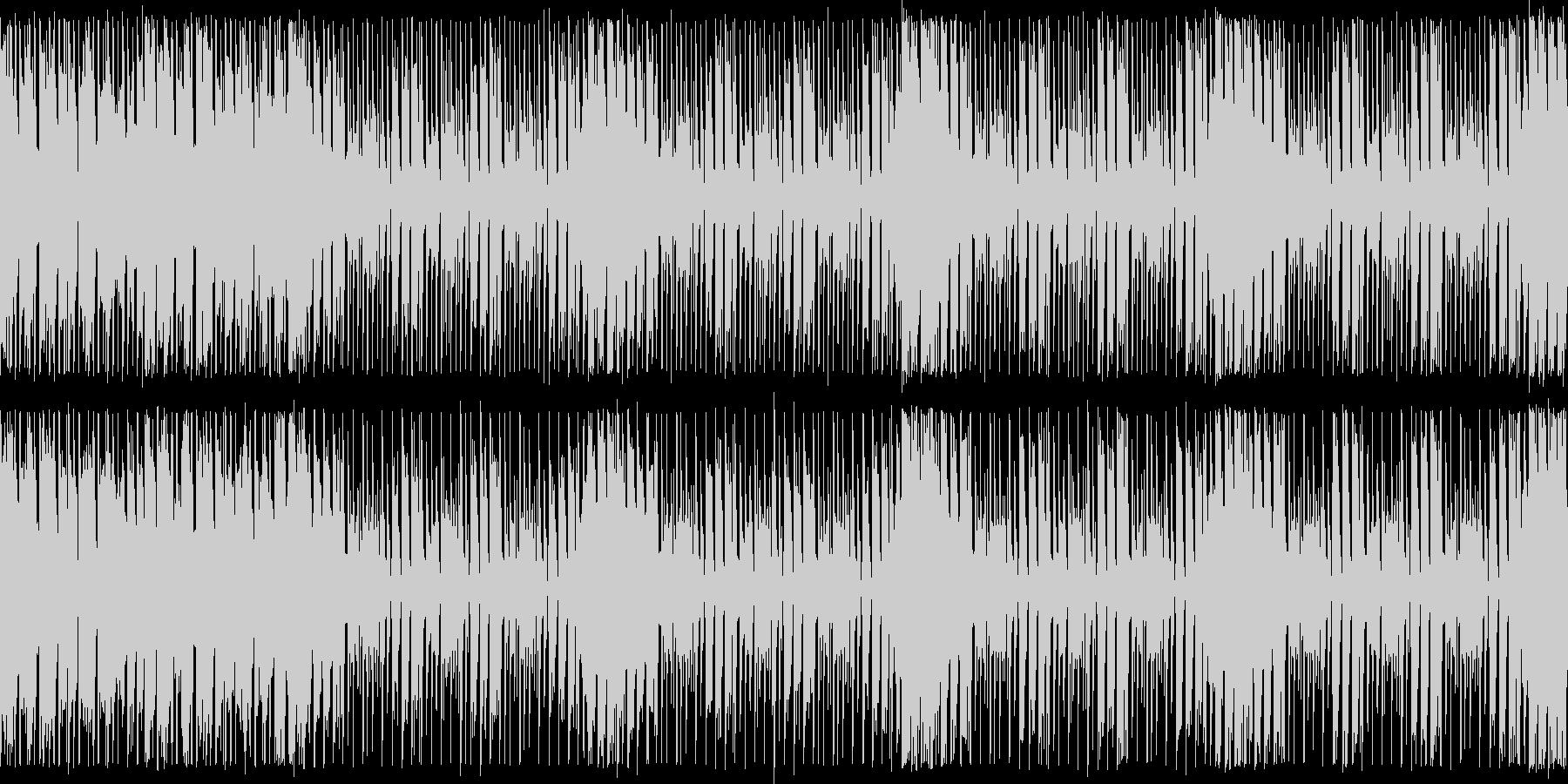 ダンスエクササイズBPM140:ループ版の未再生の波形