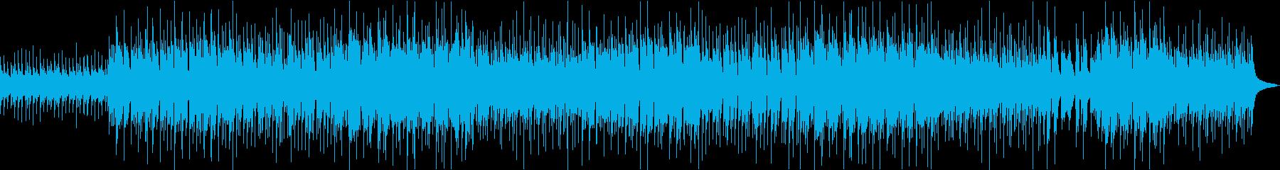 サビのメロディが記憶に残るバラードの再生済みの波形