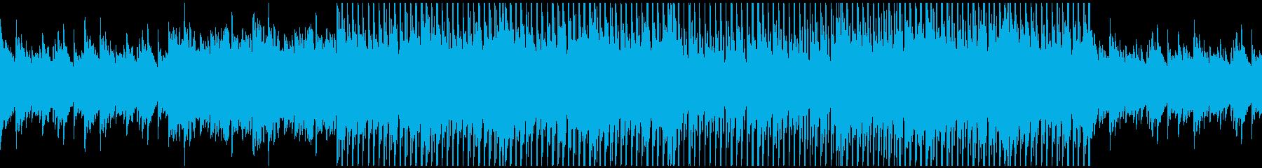 ピアノから始まるポップなクリスマスBGMの再生済みの波形