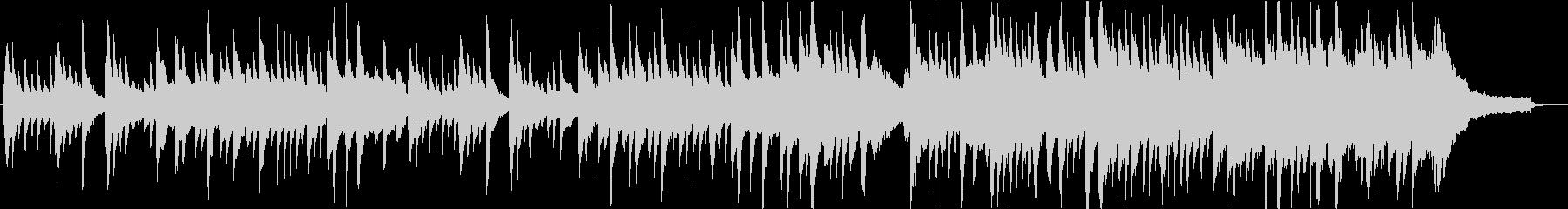 『凛とした様子』をピアノ曲で表しましたの未再生の波形