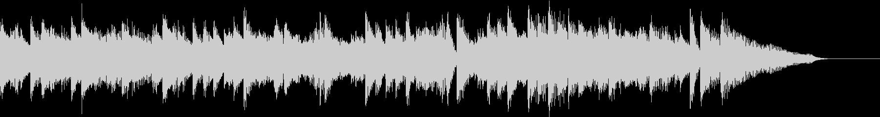 軽快カントリーウエスタンピアノジングルの未再生の波形