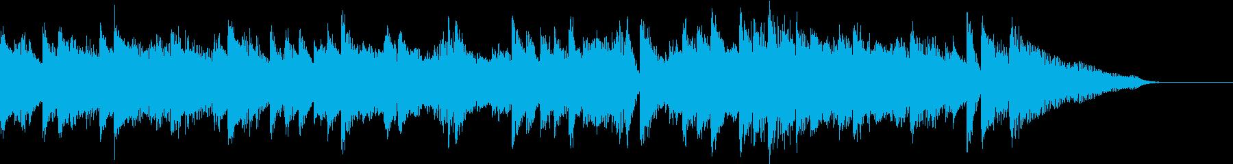 軽快カントリーウエスタンピアノジングルの再生済みの波形