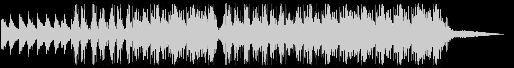 エフェクトを効かせたセンチメンタルな音楽の未再生の波形