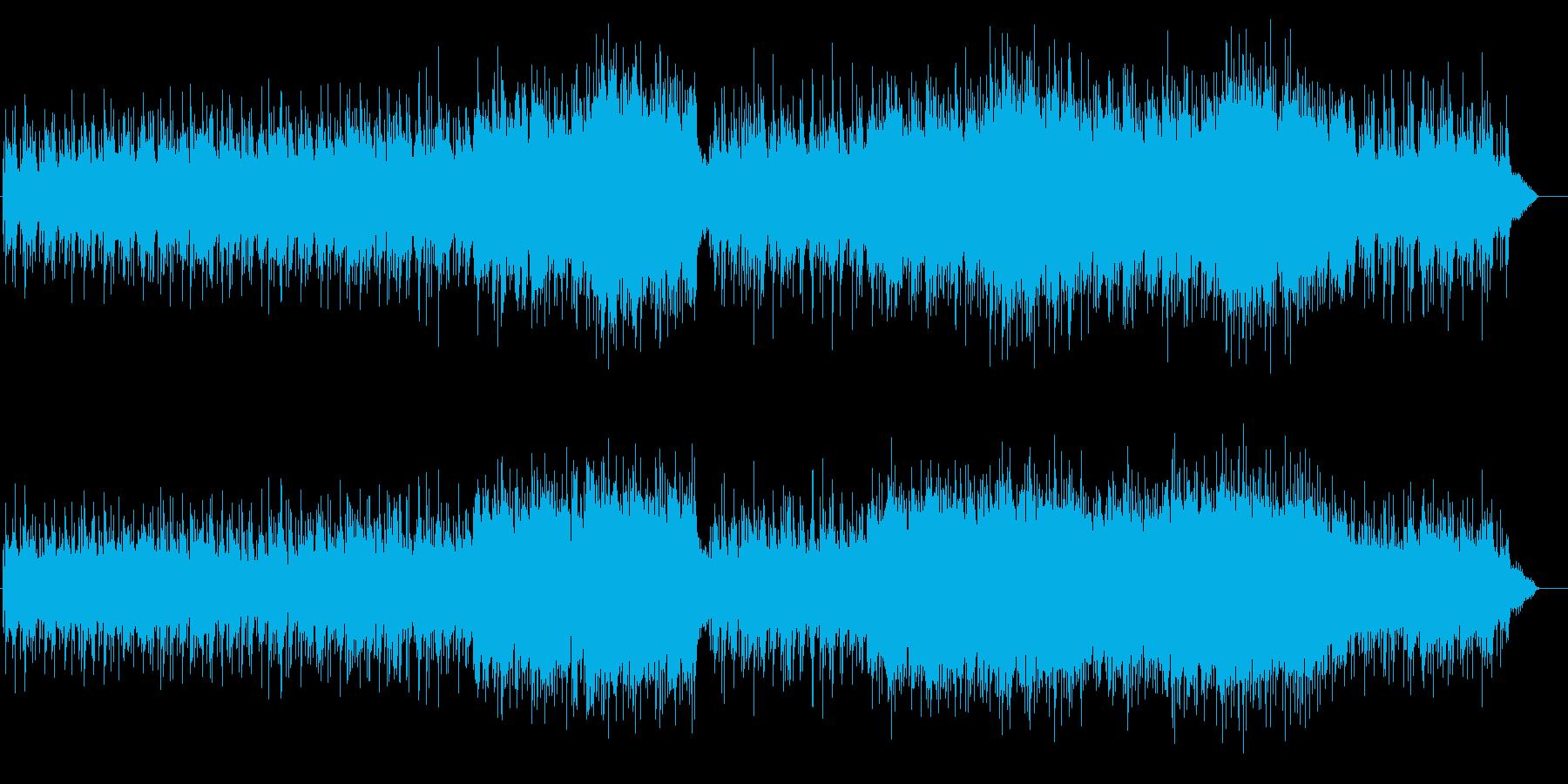 ソフトでしっとりしたフローリングバラードの再生済みの波形