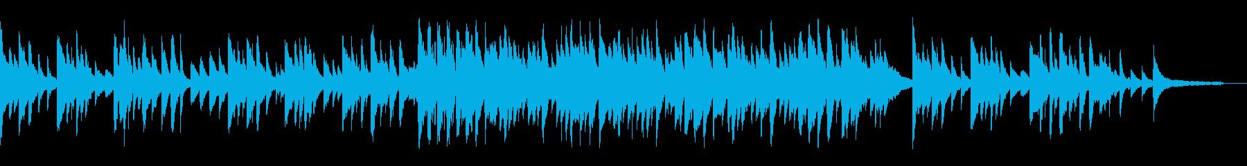琴とピアノのしっとりと切ないBGMの再生済みの波形