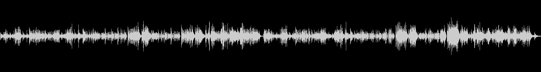 モーツァルト ソナタ KV332 2楽章の未再生の波形