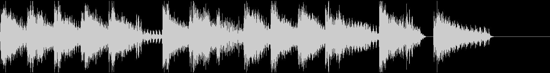 ファミコン・ゲーム風  ジングル3の未再生の波形