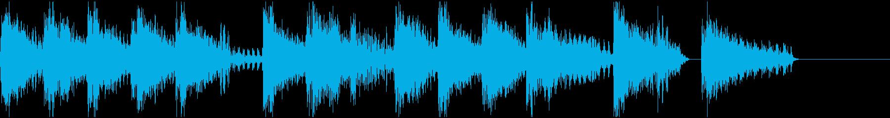 ファミコン・ゲーム風  ジングル3の再生済みの波形
