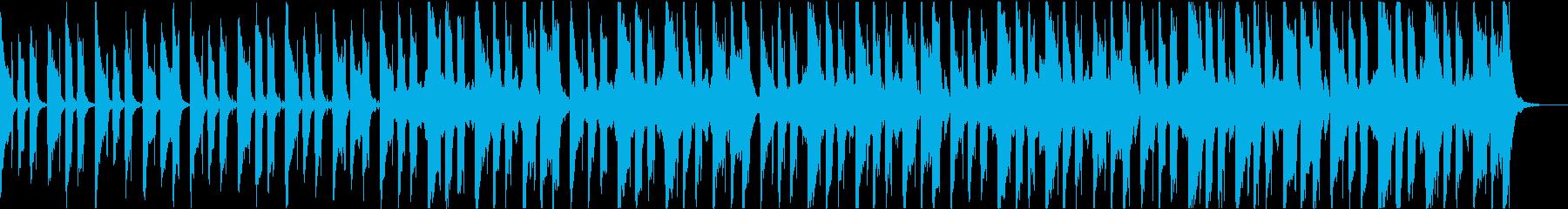 穏やかおしゃれかわいい軽快なボサノバbの再生済みの波形