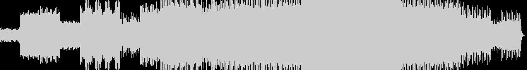 ダンス-ハウス-テック。 Acid...の未再生の波形
