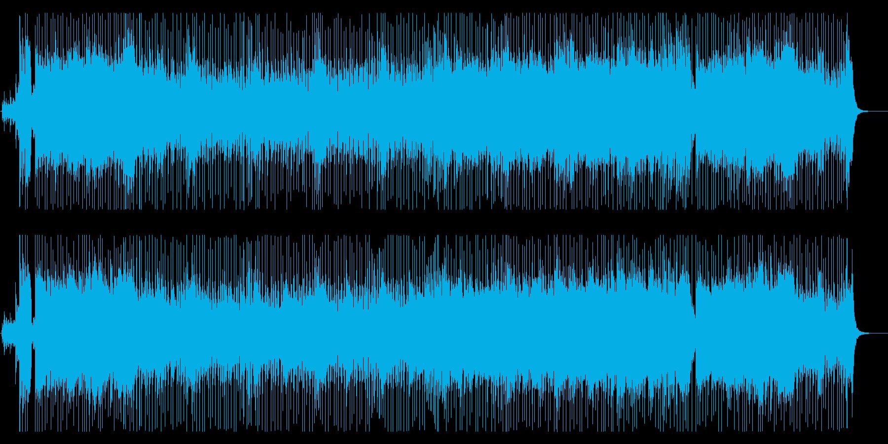 決意と信念のオーケストラロックの再生済みの波形