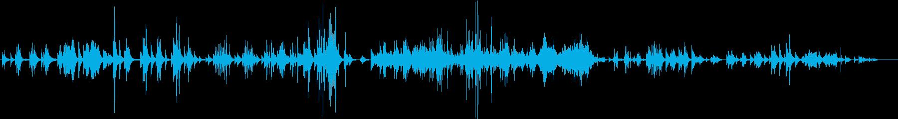 ベルガマスク組曲「月の光」ドビュッシーの再生済みの波形