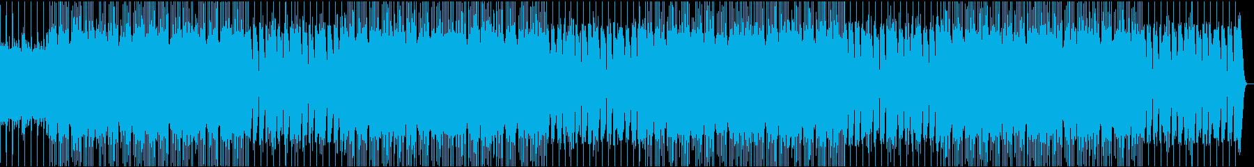 インディーロック ポップロック 積...の再生済みの波形