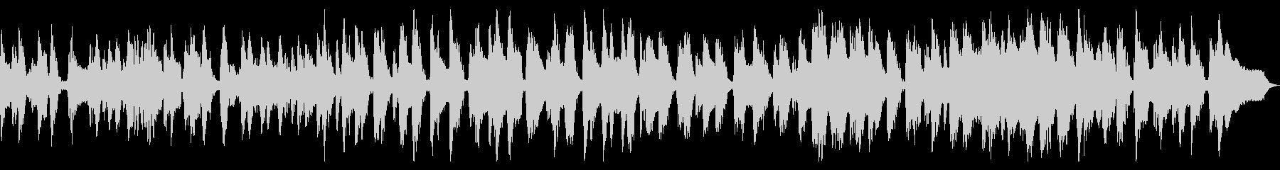 30秒の渋いクラリネット怪しくおどけた曲の未再生の波形