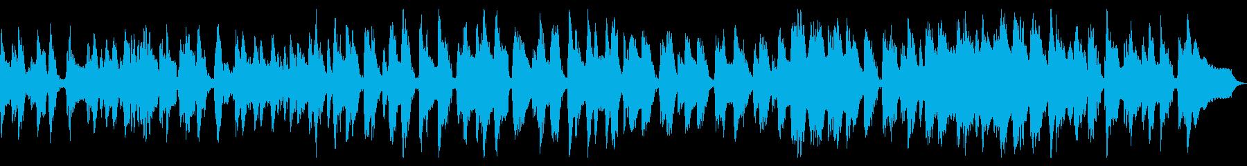 30秒の渋いクラリネット怪しくおどけた曲の再生済みの波形