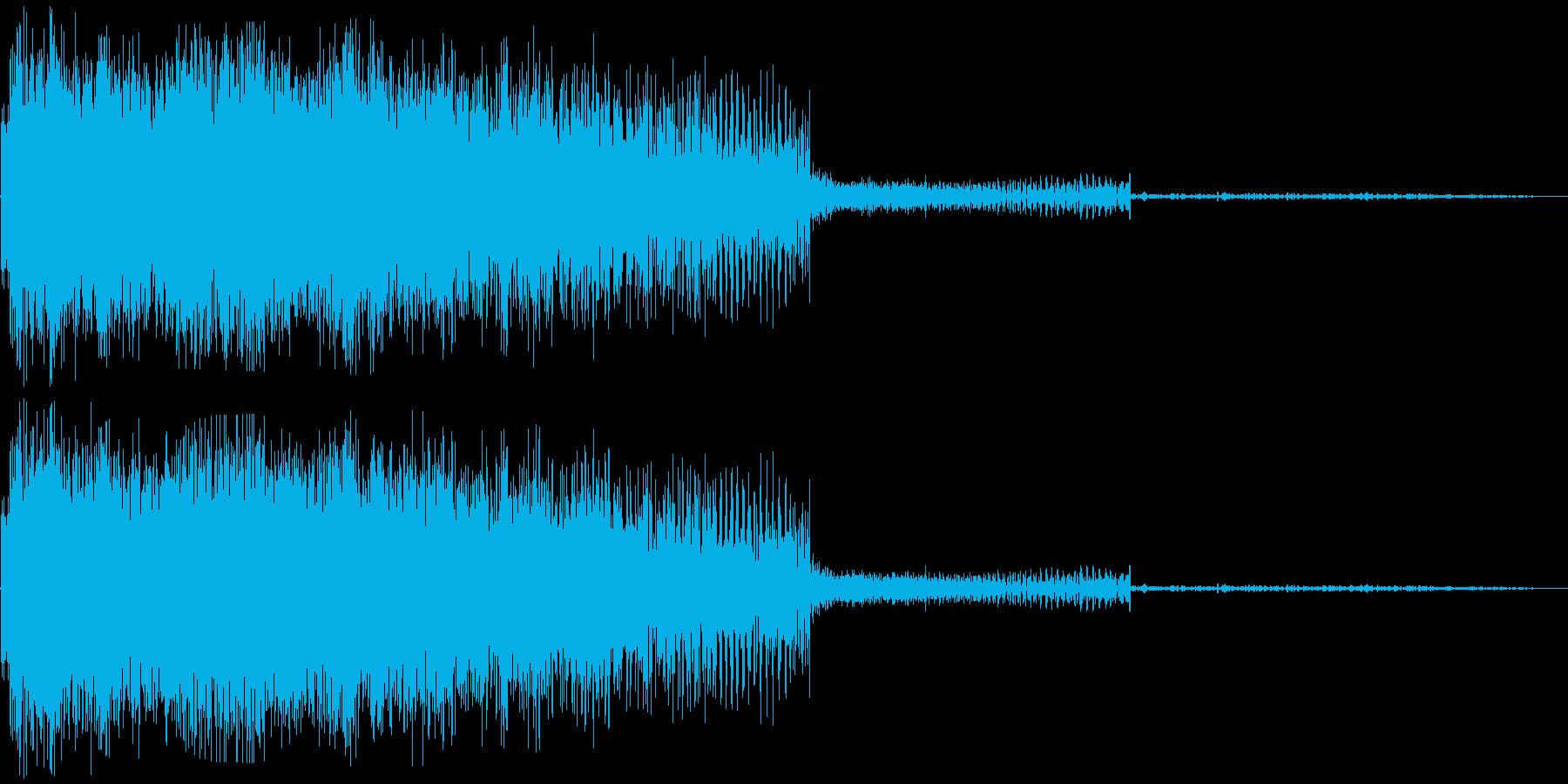 ビームライフル発射音 タイプ1の再生済みの波形