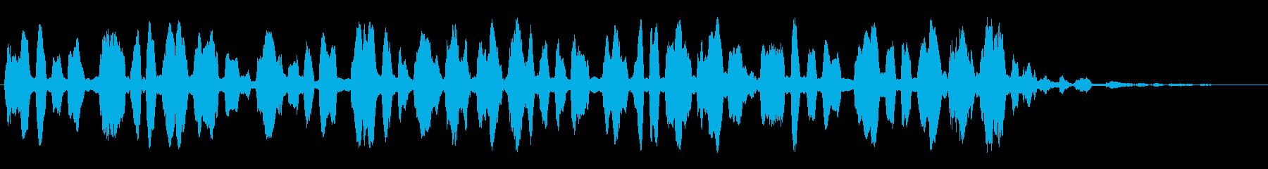 携帯、スマホなど着信音、ゲームにもの再生済みの波形