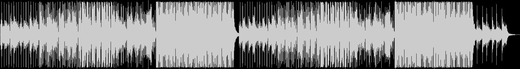 フルートの音色が心地いい前向きなBGMの未再生の波形