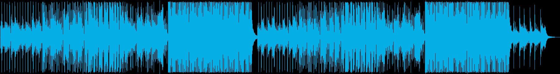フルートの音色が心地いい前向きなBGMの再生済みの波形