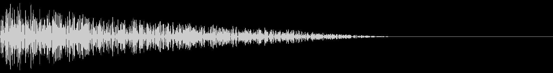 ドーン(爆発ノイズ/打撃/ファミコンの未再生の波形