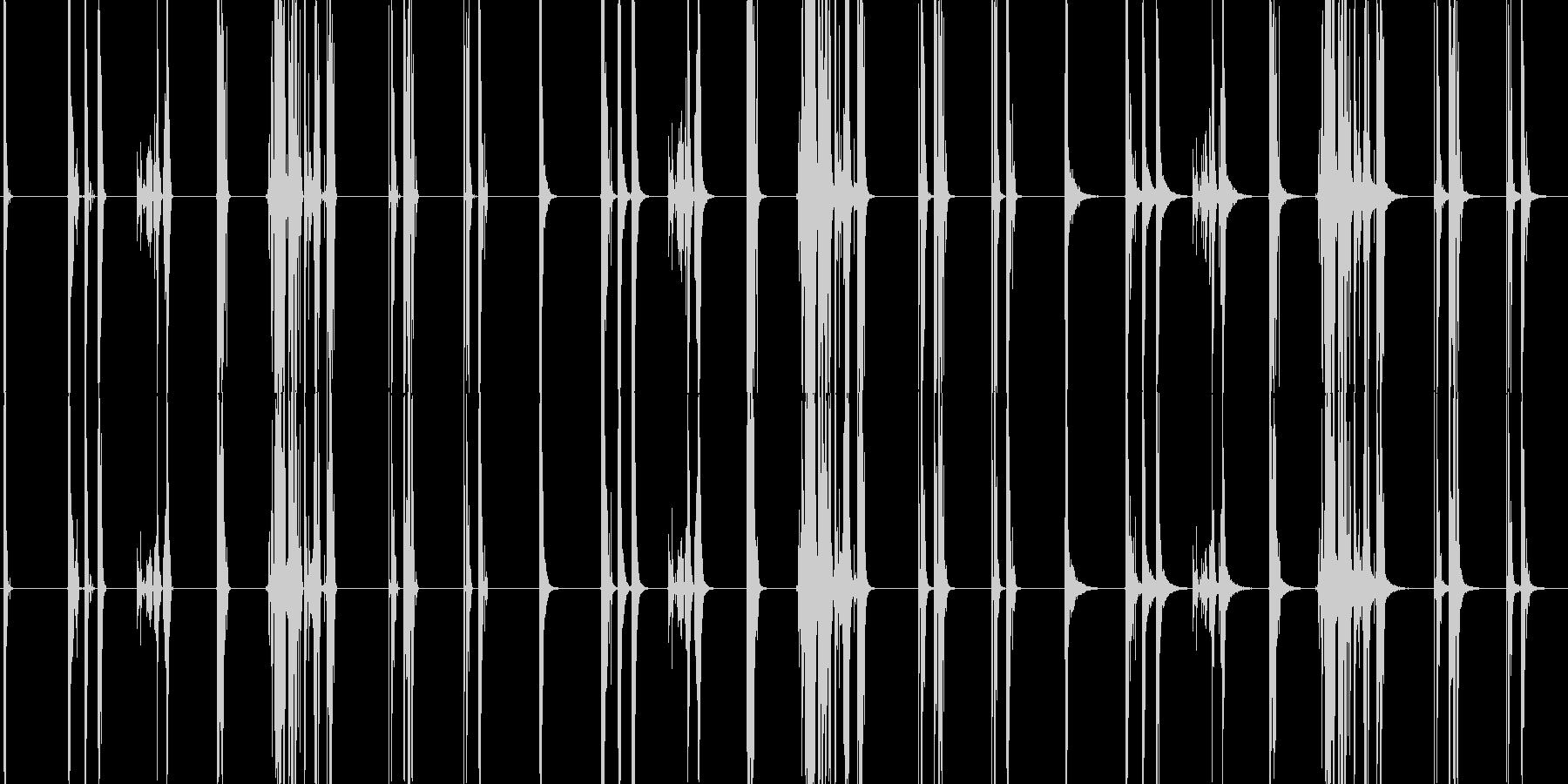 ガラスの割れ目、7つのバージョンX...の未再生の波形