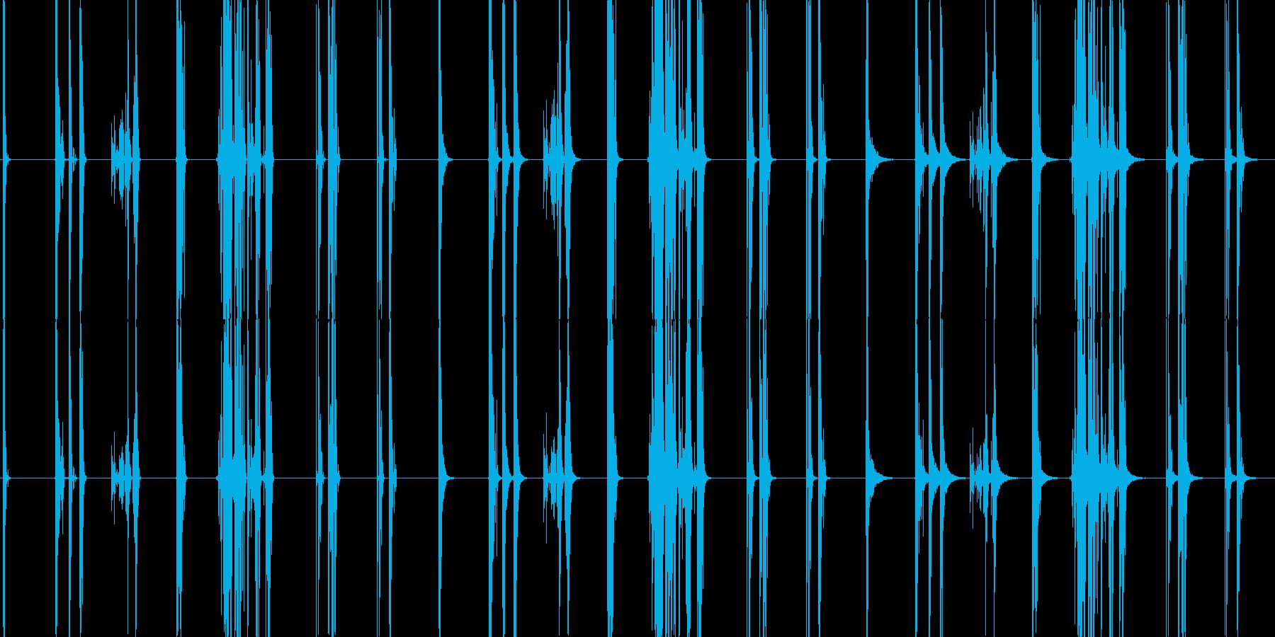 ガラスの割れ目、7つのバージョンX...の再生済みの波形