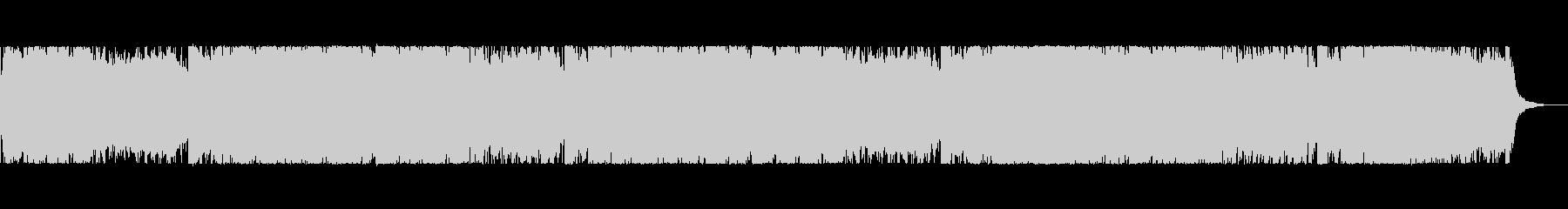 不思議なサウンドのIDMテクスチャの未再生の波形