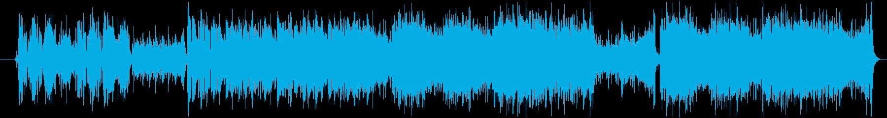 フラメンコのオリジナル曲でダンス向きの再生済みの波形