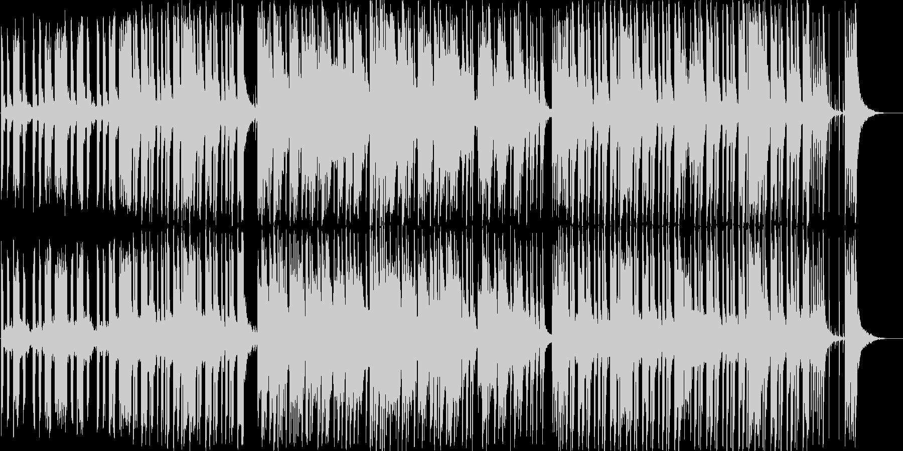 エレピとピチカートのほのぼのしたBGMの未再生の波形
