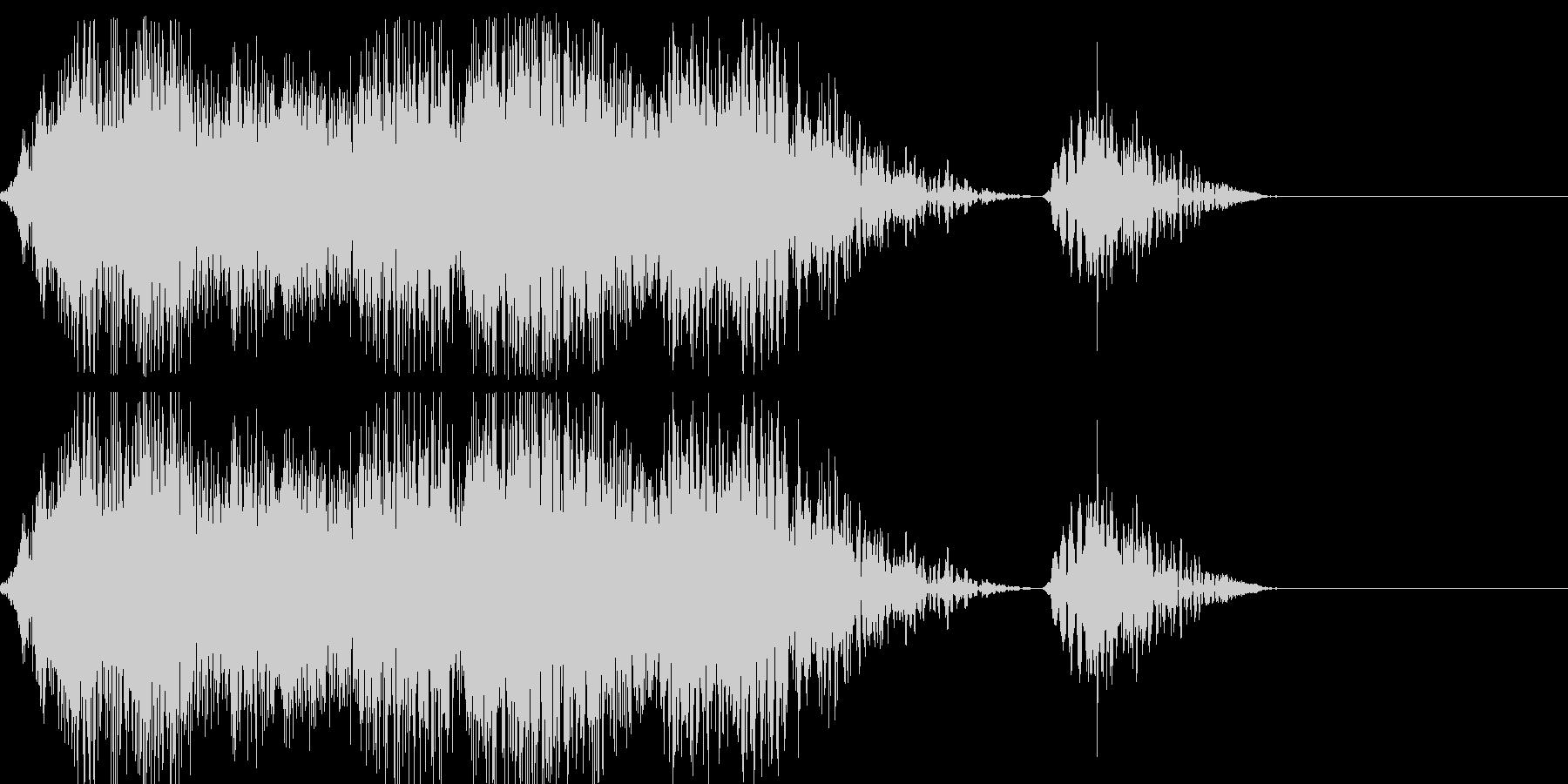 オリジナルのモンスターの鳴き声。電動系の未再生の波形