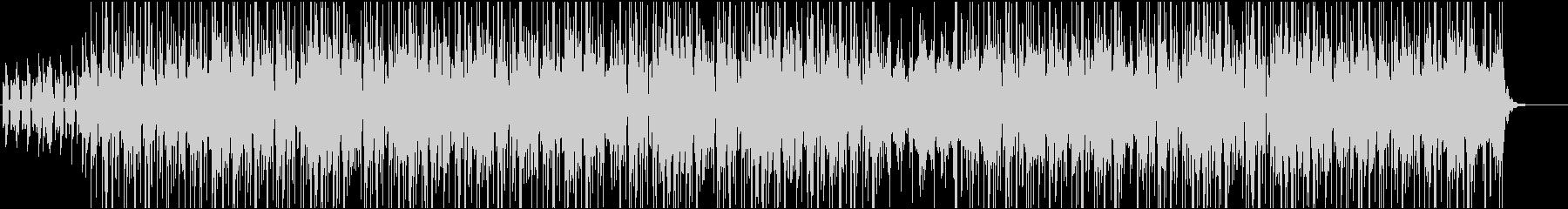 JazzyなインストヒップホップBGMの未再生の波形