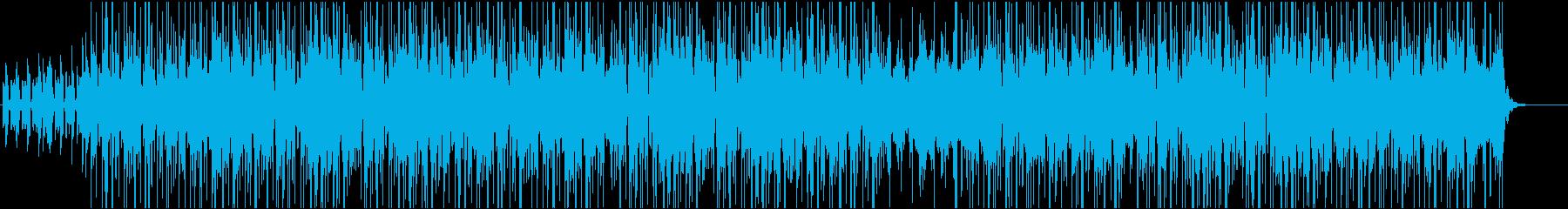 JazzyなインストヒップホップBGMの再生済みの波形