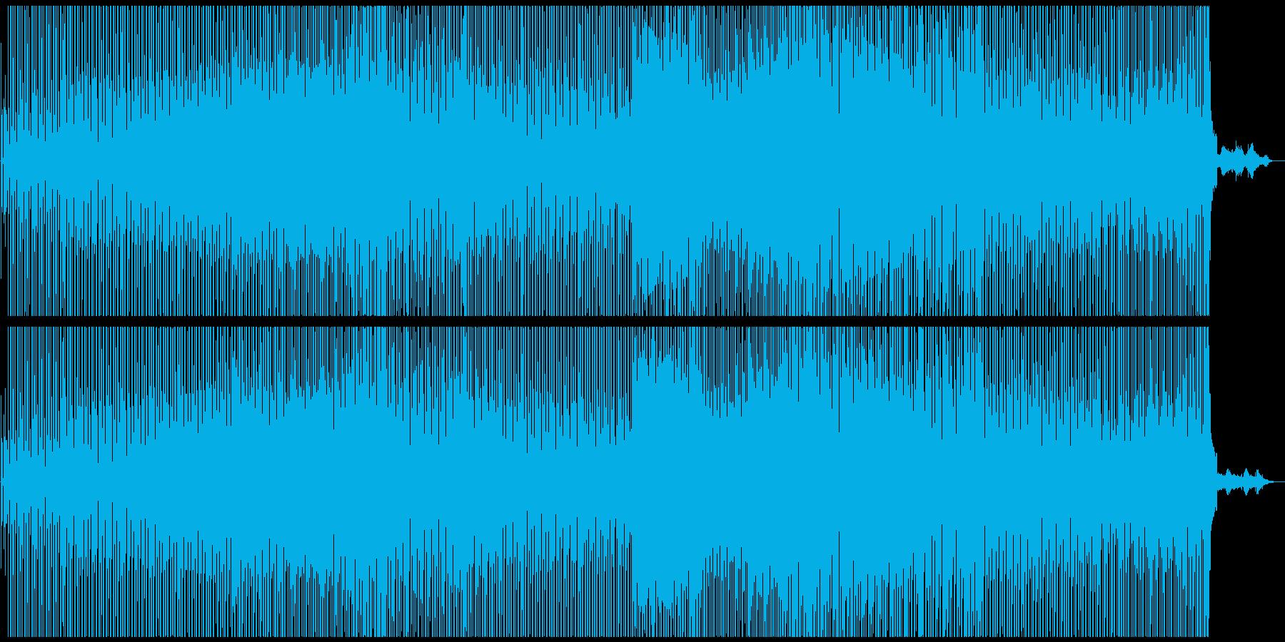 ロックテイストを織り交ぜたメロウなR&Bの再生済みの波形