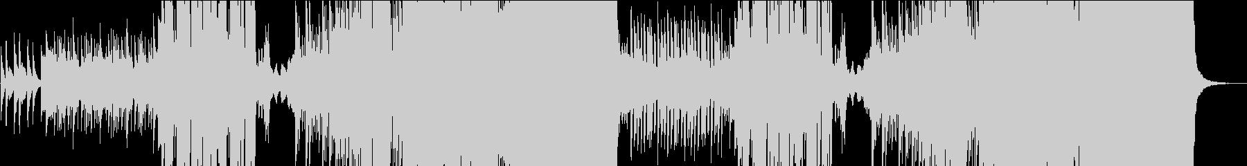琴で奏でるFuture Bassの和風曲の未再生の波形